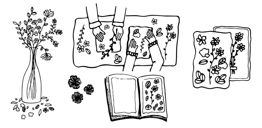 Creative & Sustainable Indoor Activities Alchemist Fashion Dried Flower Art